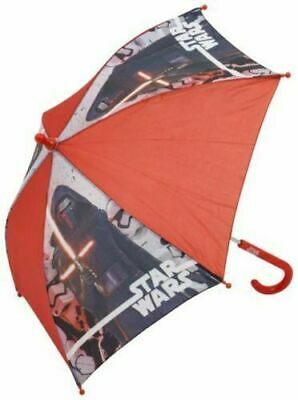 Kids Boys Children STAR WAR Character Plastic Umbrella Outdoor Travel
