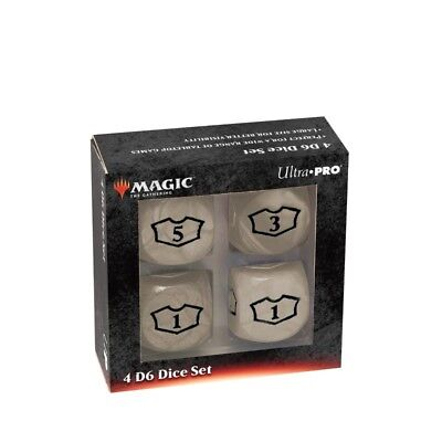 Loyality White Dice - UP Set di Dadi Deluxe (6 Facce)