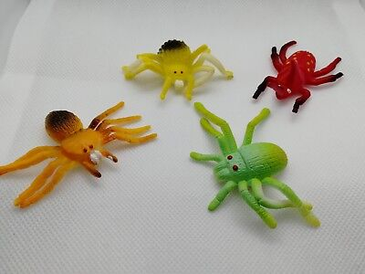Stretchy Spiders -  Boys Girls Toys Favour Birthday Party Bag Fillers