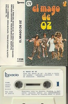 El Mago De Oz Spanish Cassette Michael Jackson Diana Ross On Cover