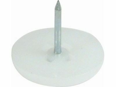 Nylon Glides For Protecting Flooring Chairs Furniture Centre Pin Knock In