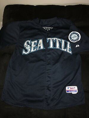quality design 5f54b bc3d7 KEN GRIFFEY JR Seattle Mariners Jersey Size 44 Medium