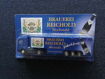 LICHER Brewery Scale HO//1:87 150 years // german beer truck Mercedes Actros
