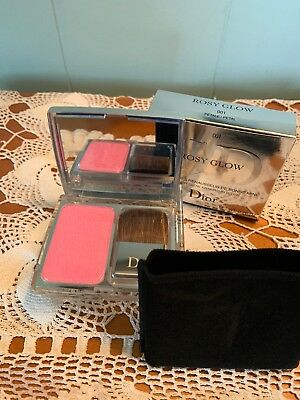 Christian Dior Rosy Glow Healthy Glow Awakening Blush 001 Petal In Box