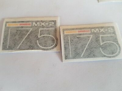 Vintage Can-Am Mx-2 175 Side Cover Decal  Bombardier Rotax Freeship-U.s.+Canada