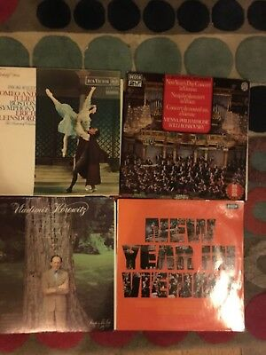 "Job Lot  4 x 12"" Vinyl Albums All Listed Free UK Postage"
