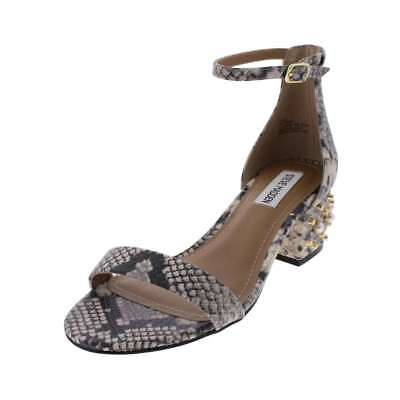 2082cc4a6ce Steve Madden Womens Indie Open Toe Special Occasion Ankle Strap Sandals