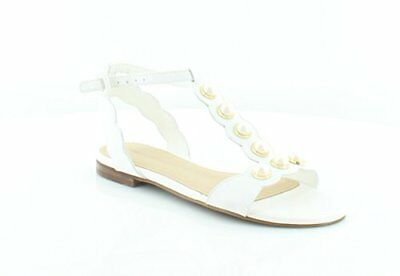 861c67447a1 MARC FISHER WOMENS Elana Leather Open Toe Casual Ankle Strap, Gold ...