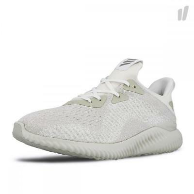 71305bd2a4f504 Adidas Alphabounce Em M Mens Athletic Shoes White Silver Metallic Off White  8 U