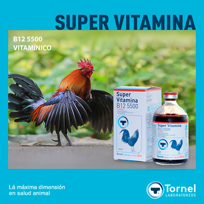 TORNEL - Super Vitamina B12 5500 100ml (Exp. sep. 2021)