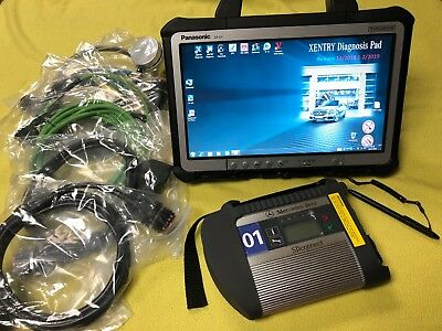 MB Star C4 SDConnect Mercedes Diagnostics Dealer Level Kit