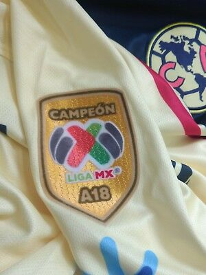 24148529fcb Club America Aguilas LIGA MX Campeon A18 Jersey Patch Badge 2019 FREE  SHIPPING