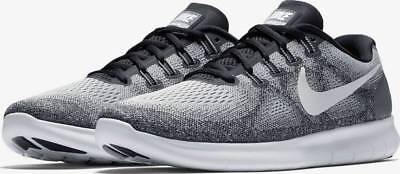 f939e28f102 NIKE FREE RN 2017 Running Shoes Grey Off White 880839-002 Men s NEW ...