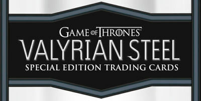 Game of Thrones Valyrian Steel trading cards SEALED HOBBY BOX ** Priority mail