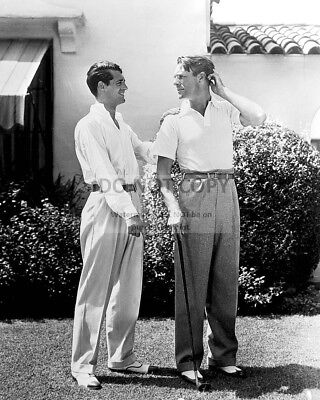 Cary Grant And Randolph Scott Hollywood Legends - 8X10 Publicity Photo (Ep-959)