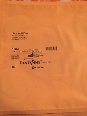 Comfeel Plus Contour Dressing 42 Sq In. Sealed, Sterile Lot Of 5 (#3283)