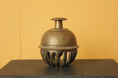Antique Indian large Temple bell. Elephant bell.