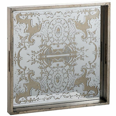 NEW Regal Mirrored Square Tray - Elegant Designs,Kitchen & Butler Trays