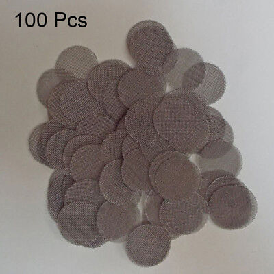 100Pcs Multifunctional Hookah Water Pipe Metal Filters Smoke Pipes Screen Gauze