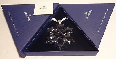 Swarovski Christmas 2018 Large Snowflake Ornament 5301575 ~ New In Box
