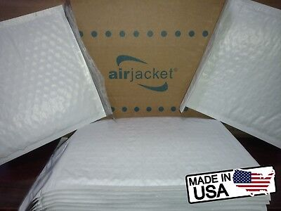 Size #0 6.5x9.25 Poly Airjacket Bubble Mailers Envelopes ( 50 QTY ) Made in USA