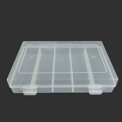 100Pcs 30mm Clear Round Coin Cases Capsules Container Holder Storage Boxes
