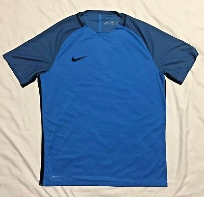 0811ebb4 Nike Aeroswift Strike Soccer Top Training Shirt Jersey - Men's Sz Xl Blue
