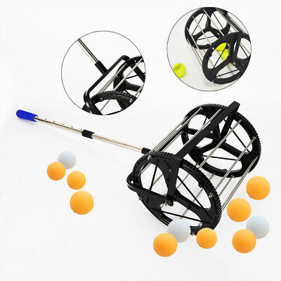 Tennis Ball Picker Hopper Retriever Mower Collector for 55 Tennis balls Hot Sale