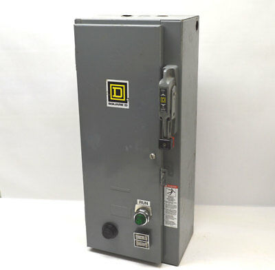 Square D 8538SCG11V81CFF4P22T 30-Amp Motor Starter Disconnect Switch Contact:Sz1
