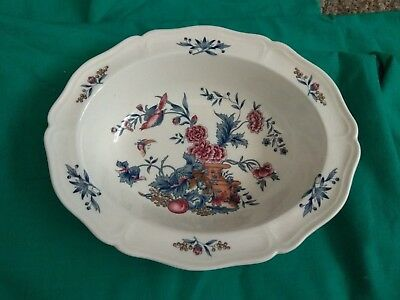 Wedgwood POTPOURRI Oval Vegetable Serving Bowl Williamsburg NK510 England 9-3/4""