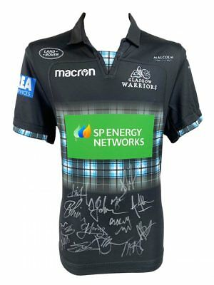 Signed Glasgow Warriors Shirt - Fully Autographed 2019 + *certificate*