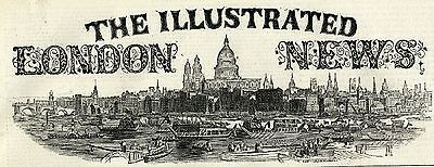 1870 ILLUSTRATED LONDON NEWS Newspaper SYNAGOGUE LONDON Tyndall BROADCLYST 4951