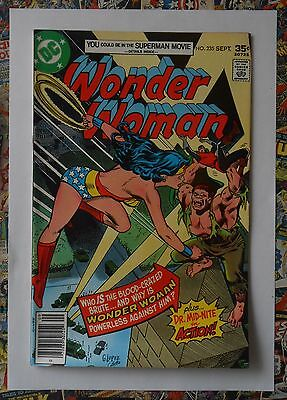 Wonder Woman #235 - Sep 1977 - Dr Mid-Nite Appearance! - Nm (9.4) High Grade!