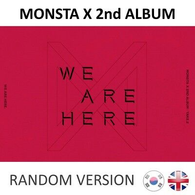 [NEW + SEALED!] MONSTA X We Are Here 2nd Album Take 2 CD K-pop Kpop UK