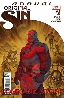 Original Sin Annual #1 (2014) 1St Printing Bagged & Boarded Marvel Comics