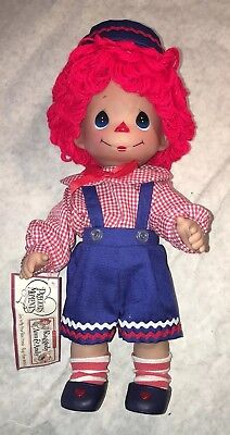 Precious Moments Raggedy Ann & Andy Doll #4519 2008 13""