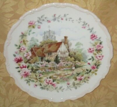 MINT Royal Albert English Bone China Cottage Garden Year Series Plate - SUMMER