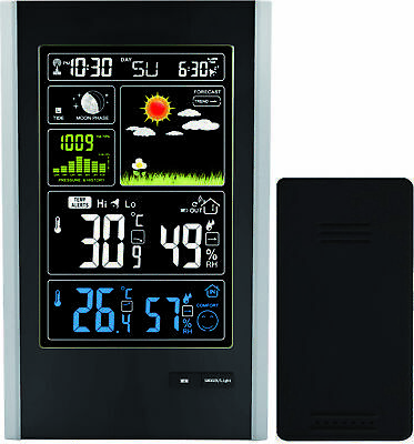 Radio Controlled Weather Station with Indoor/Outdoor sensor by ThinkGizmos TG646