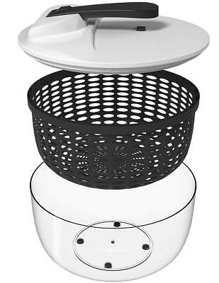 Vremi Large Salad Spinner - 6.3 Quart Capacity & BPA Free Collapsible...
