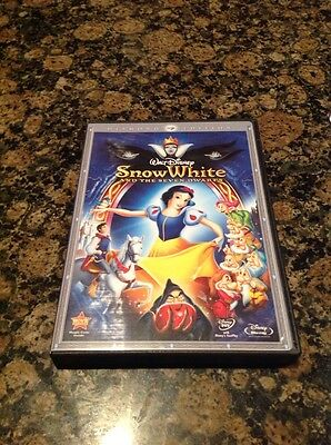 Snow White and the Seven Dwarfs (Blu Ray,DVD,2009,3Disc Set)Authentic US Release