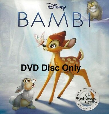 Disney Bambi DVD Disc Only | Region 1 | Disc is Brand New