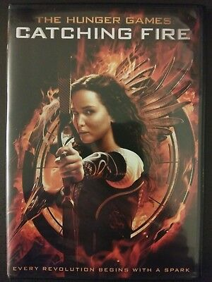 The Hunger Games: Catching Fire (DVD, 2014)