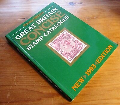 Stanley Gibbons 1993 Great Britain Concise Stamp Catalogue