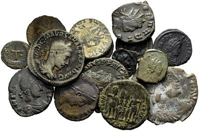 FORVM Lot of 15 Roman Coins aVF to VF Coins in Photo