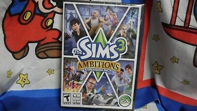 PC The Sims 3 Ambitions Expansion Pack Game BRAND NEW SEALED