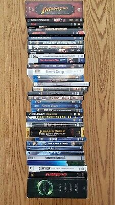 DVD and Blu Ray Movie Collection