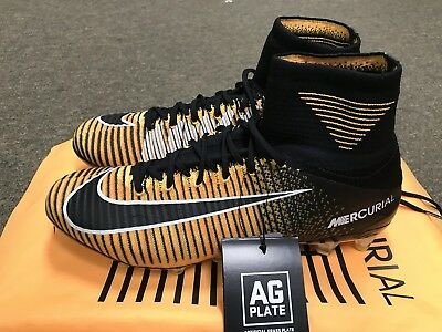 205f81ff17d5 NIKE MERCURIAL SUPERFLY V DF AG-Pro Flyknit Soccer Shoes New! 831955 ...
