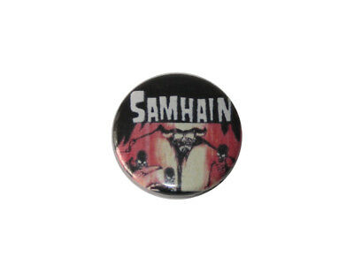 Button / Pin - Samhain - Anstecker Deathrock Horropunk Gothic Misfits danzig