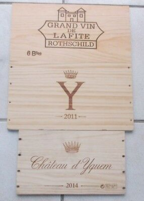 "Lot De3 Estampes Grands Vins De Bordeaux: Yquem ,lafite Rothschild ,""y"" D'yquem"