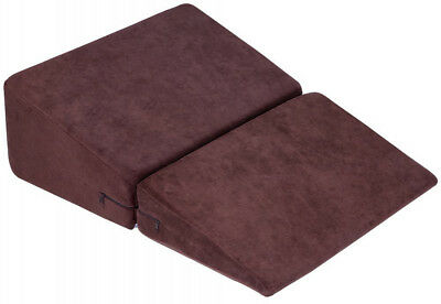 QUEEN ROSE Foldable Wedge Reading Pillow With Removable and Washable Cover
